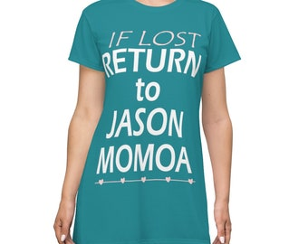 Return to Jason Momoa T-shirt Dress