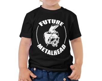 Heavy Metal Future Metalhead Toddler TShirt