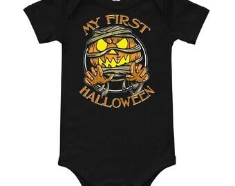 My First Halloween Baby One Piece
