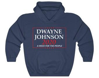 Dwayne Johnson Election Campaign of 2020 Hoodie Sweatshirt