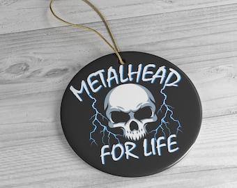 Heavy Metal Christmas Ornament