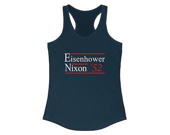 Election Campaign Eisenhower Nixon 1952 Women's Tank Top