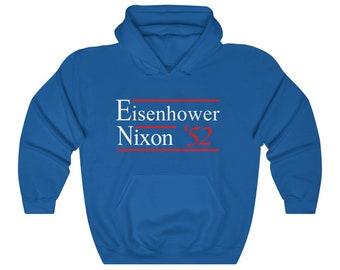 Eisenhower Nixon Election Campaign 1952 Hoodie Sweatshirt
