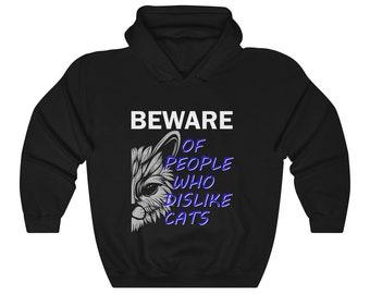 Cat Lovers Hoodie Sweatshirt Pet Cats