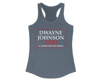 Dwayne Johnson 2020 Election Campaign Women's Tank Top