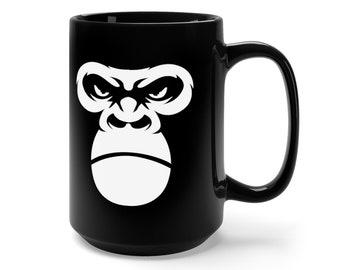 Gorilla Ape Face Coffee Mug 15oz
