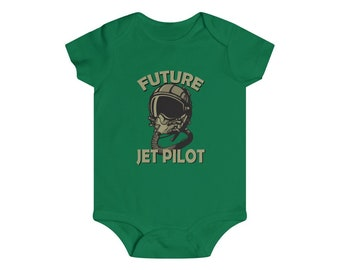 Future Jet Pilot Infant Baby One Piece Clothing