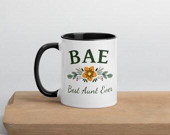 Best Aunt Ever BAE Mug Gift Idea