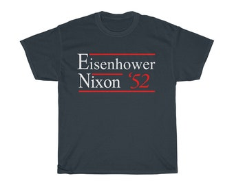 Dwight Eisenhower - Nixon 1952 Presidential Election Campaign First Term