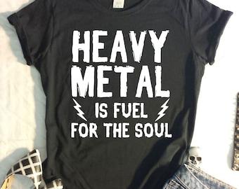 Heavy Metal Ladies TShirt