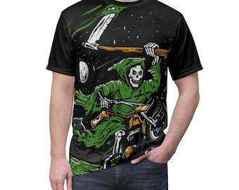 Grim Reaper Motorcycle TShirt