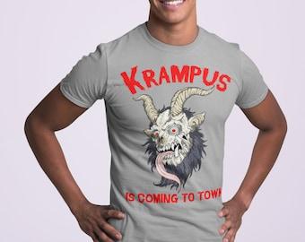 Krampus Horror Christmas TShirt