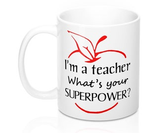 Teacher Mug 11oz Gift Idea for Educators
