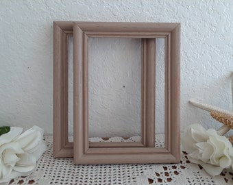 White Shabby Chic Picture Frame Up Cycled Vintage 8 x 20 Photo Decoration Country Cottage Home Decor Spring Summer Fall Winter Wedding Gift