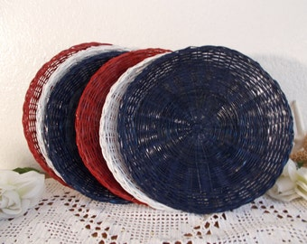4th july paper plate   Etsy