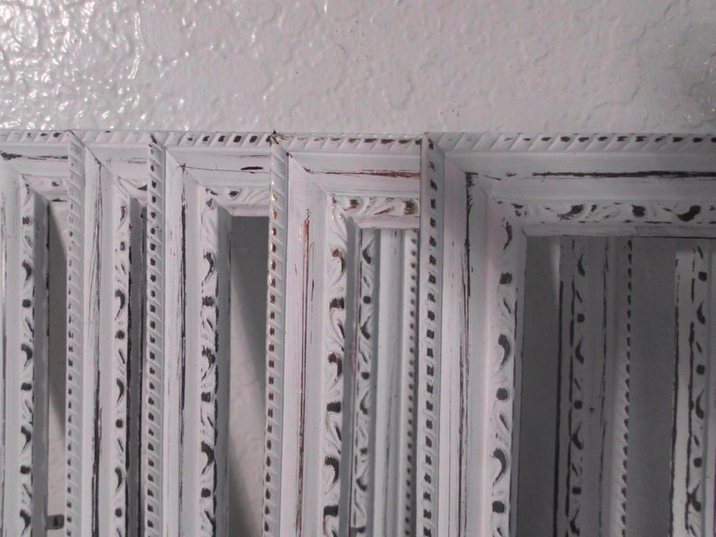 Ornate White Shabby Chic Picture Frame 4 x 6 Photo Decoration Romantic Cottage French Country Farmhouse Home Decor Spring Summer Wedding
