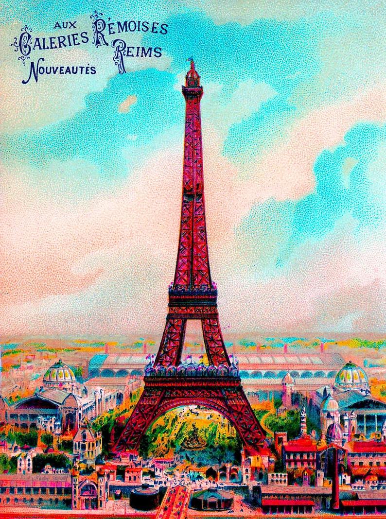 Французская открытка видео