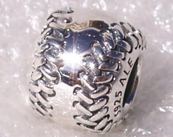 BASEBALL, Pandora, Bracelet Charm, RETIRED, Silver, Passion, Sports Fan, Athletic, Little League, Memories, World Series