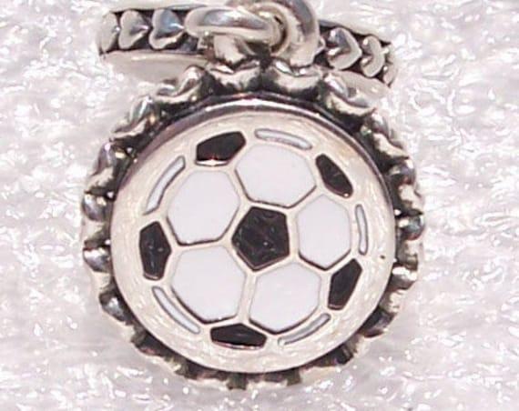 Soccer, Pandora Charm, Bracelet Jewelry, 925, Colored Enamel, Dangle, Sports, GOAL, Family, Team Effort, Two Teams, Football, Gift Idea,Kids