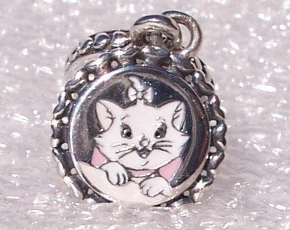 CAT MOM, RARE, Pandora Disney, Parks Exclusive, Bracelet Charm, 101 Dalmatians, Sterling, Enamel, Walt Disney Productions, Evil, Minions