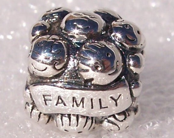Family Charm, Love Bead, Pandora, Bracelet Jewelry, Friends, 925, Happy, Together, Unconditional, Games, My Children, The Gang, Blessed