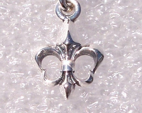 Fleur De Lis, Pandora, Bracelet Charm, French heritage, RETIRED, Dangle, Symbol, Saint Louis, Missouri, New Orleans, Louisiana,