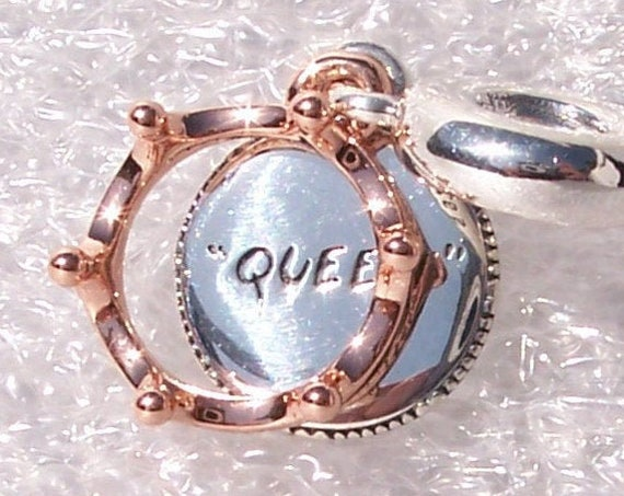 Queen and Regal, CROWN, Pandora Rose, Bracelet Charm, Dangle, Silver, Autumn 2019, For A Lifetime