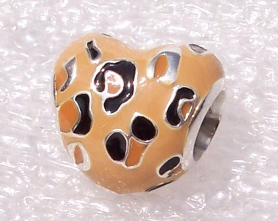 Spotted Heart, Pandora, Bracelet, Leopard, Animal Print, Fierce and Fabulous, Trend, Enameled, Wild Side, Nature, Bold, Travel Memories