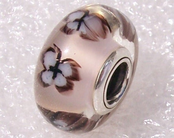 Butterfly, Pink Murano Glass, Pandora Charm, Springtime, Bracelet Bead, 2019, 925, Souls, Life, Good Luck, Joy, Wisdom, Guidance, Spirit