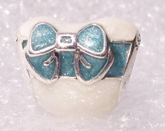 White Day LOVE, Pandora, Bracelet Charm, Shimmering Silver, Light Blue, Enamel, Sterling Silver, Asia, Alternate, Marshmallow Day, HEART