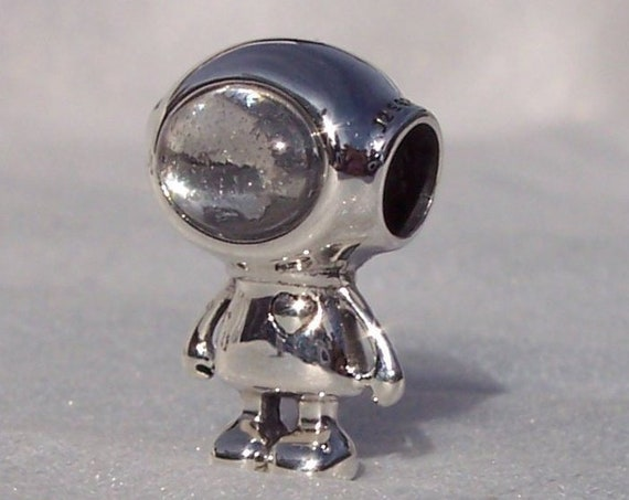 COSMO TOMMY, Pandora, Bracelet Charm, Clear CZ, Dream Big, New Horizons, Space Inspired, Sterling Silver