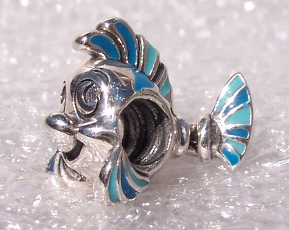 The Little Mermaid, FLOUNDER, Pandora Disney, Bracelet Charm, Power of Friendship, Loyalty, Companionship, Friends, Flounder, Autumn 2019