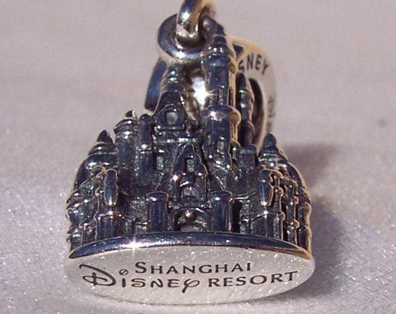 Shanghai Castle, Pandora Disney, Resort, Bracelet Charm, Parks Exclusive, Sterling Silver