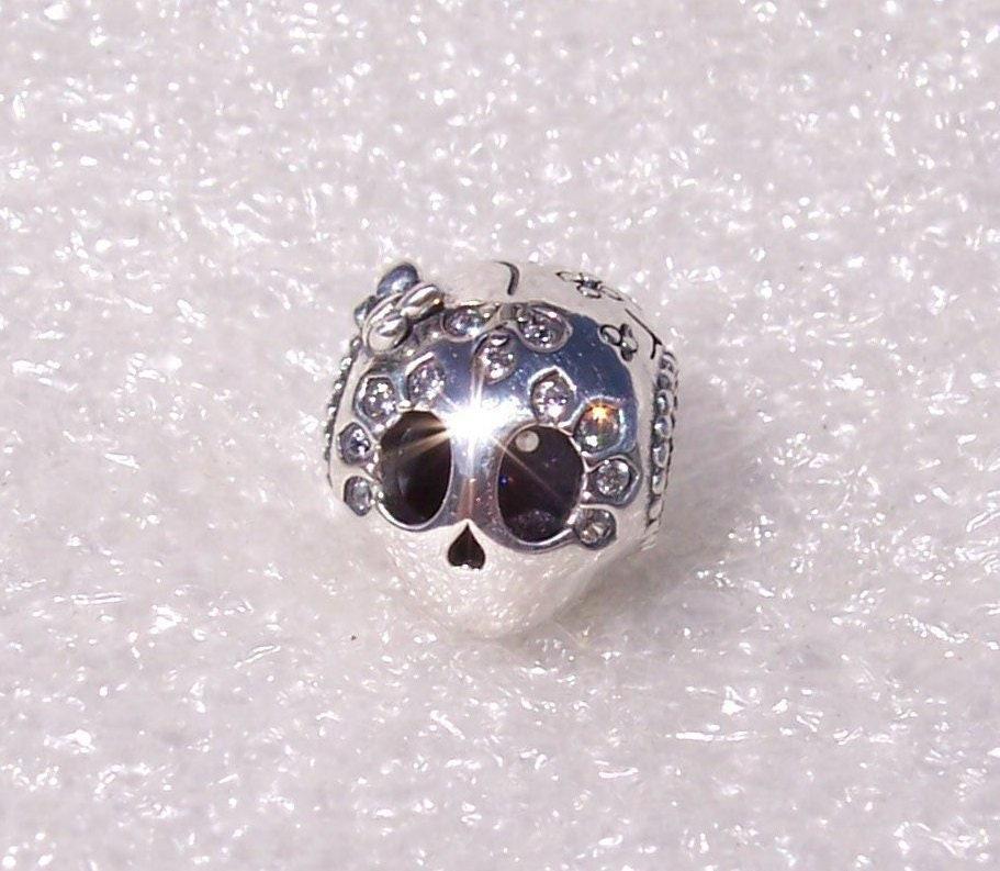739a62801 Sparkling Skull, Pandora, Bracelet Charm, Spooky Sweet, Bow, Butterfly,  Glittering Stones, Heart, Sterling Silver, Spring 2019