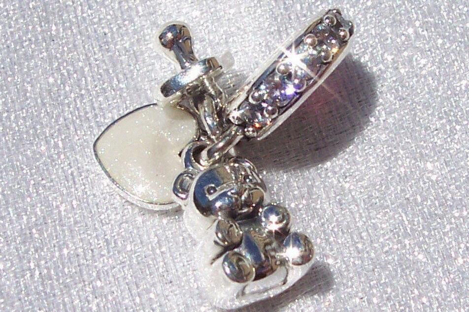 Authentic Pandora Baby Treasures Bracelet Charm