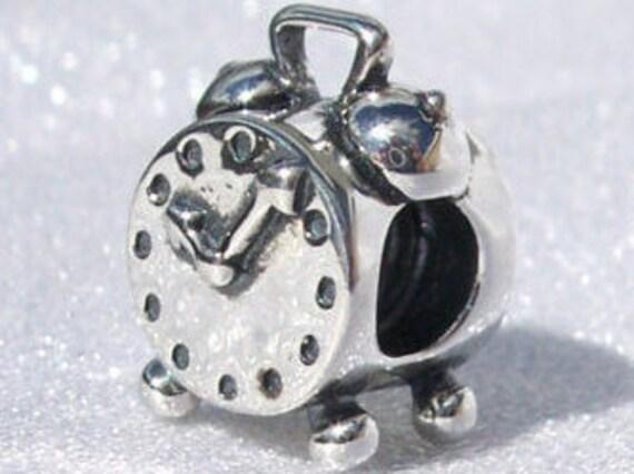 Alarm Clock, Pandora, Bracelet Charm, 925, RETIRED, Retro, Wake Up, Timing, Keep Track, Contemporary, Time Is Precious