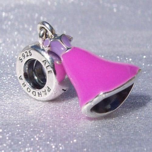 d9d69e527 Pandora, Disney, Rapunzel Dress, Bracelet Charm, Silver, 925 ALE ...