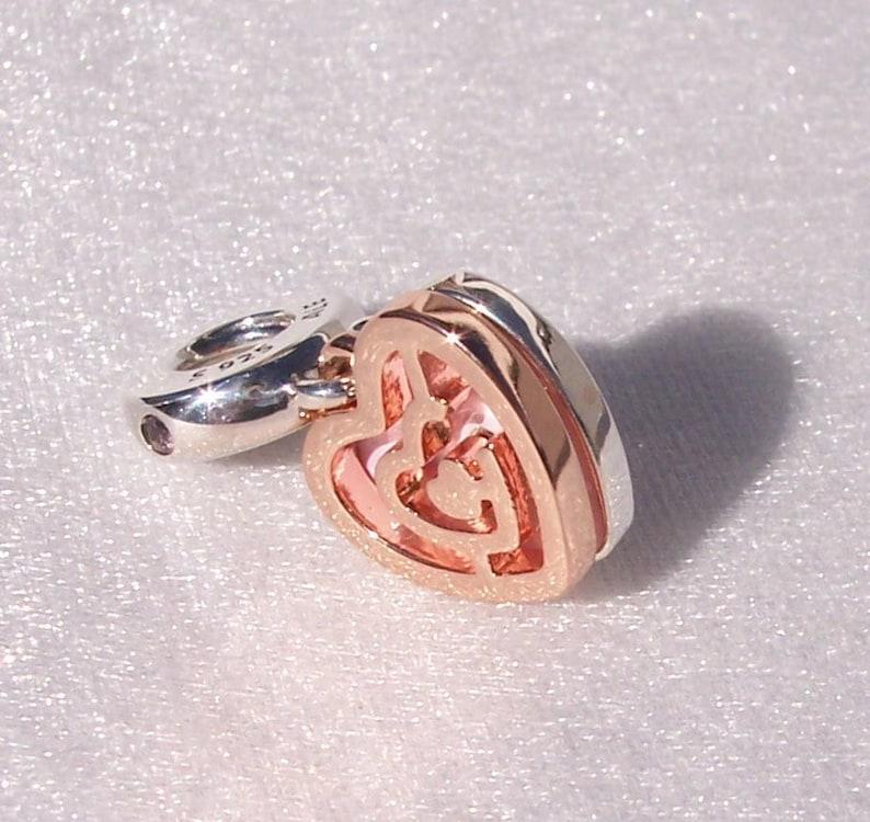 337936dc1 Path To Love Pandora ROSE Bracelet Charm Rose Gold | Etsy