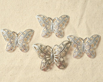 Butterfly Charms, Findings, Decorations, Jewelry, Sewing Embellishments