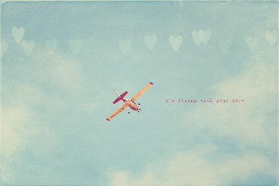 Airplane Photography I love Flying Flying Quotes Love and Etsy Inspiration Flying Quotes