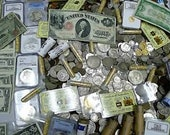 100 plus Coin Estate Lot NGC PCGS silver coins, currency, Gold Flake