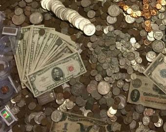 Estate  Sale Old US coins PCGS Money Horde