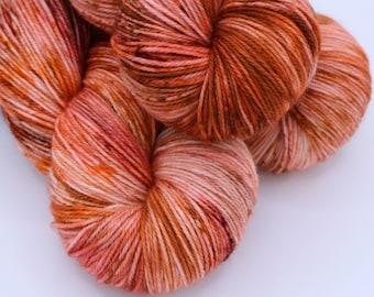 Crafty Sock - 80/20 SW Merino/Nylon Fingering - 420yards/115g - Pumpkin Spice Everything