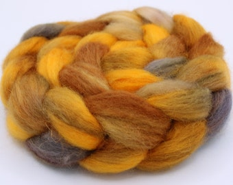 BFL - Blue Faced Leicester Spinning / Felting Top (Roving) - Approx. 4oz. - Safe Passage