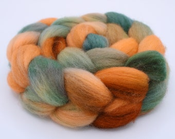 Falkland Spinning / Felting Top (Roving) - Approx. 4 oz. - Contemplation
