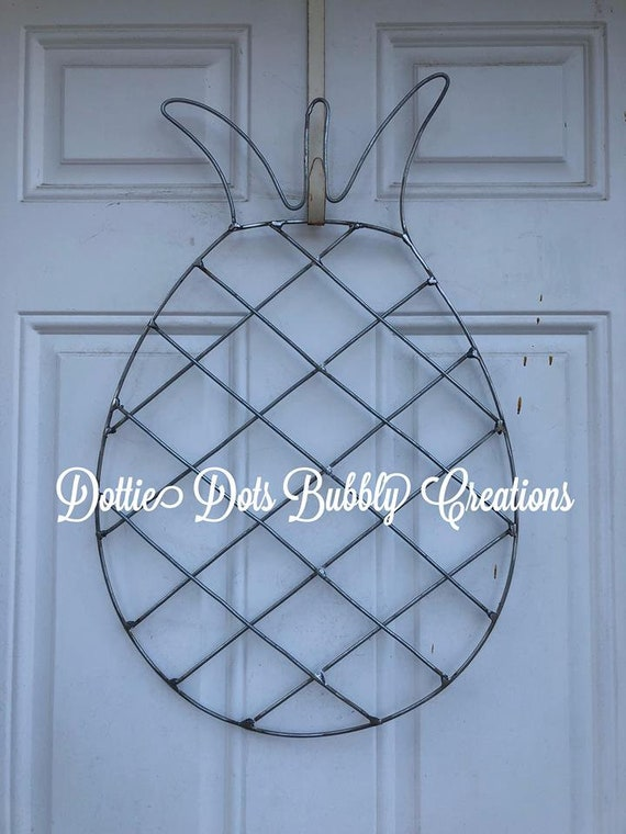 Pineapple Wreath Wire Form   Etsy