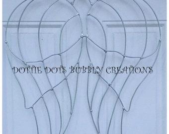 Angel Wings Wire Wreath Form