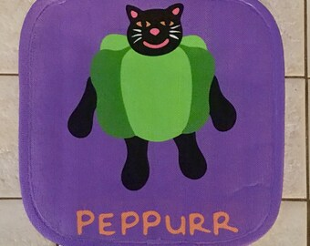 VeggieCat Cat Pot Holder (Limited Styles & Quantities)