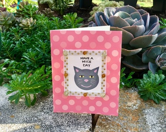 Friendship and Love Cat Note Cards--Set of Four