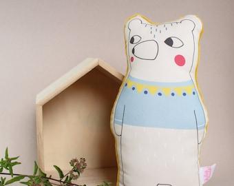 Bear Softie - Bear In Jumper Soft Toy